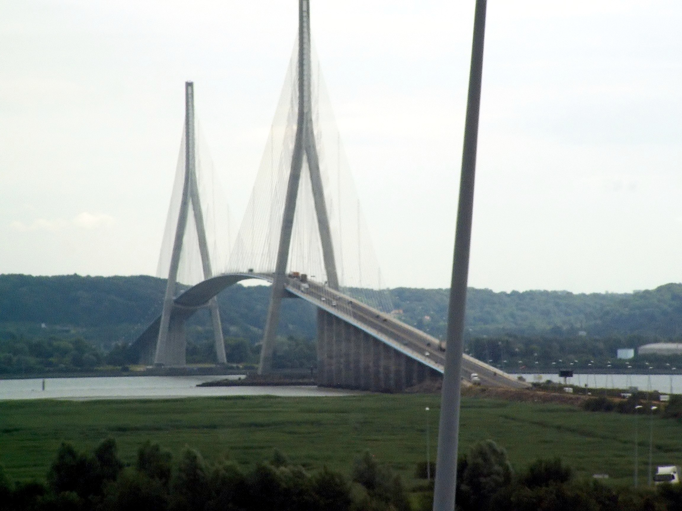 Figure 4  Ponte de Normandie cable-stayed bridge in France   2  Cable Stayed Bridge